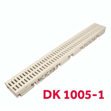 CANIVEAU 1M×13CM 60MM LUXWARES DK-1005-1