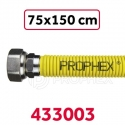 FLEXIBLE GAZ EXT INOX 75-150 PROPHEX